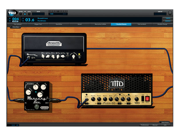 While the Lynch Box amp excels at rock, it's got a preamp model for every occasion.
