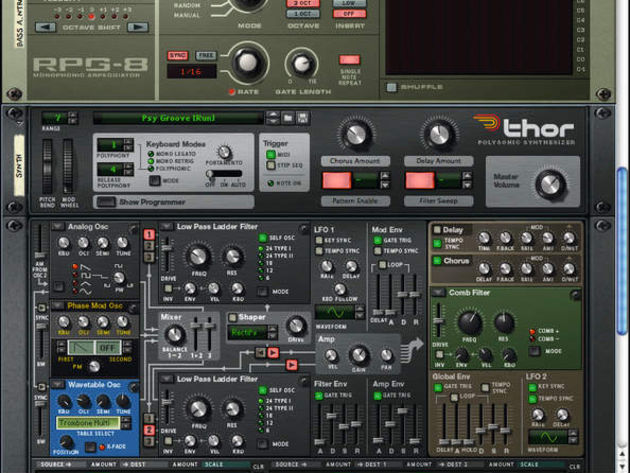 Christian Meyer has hammered out 128 Thor patches.