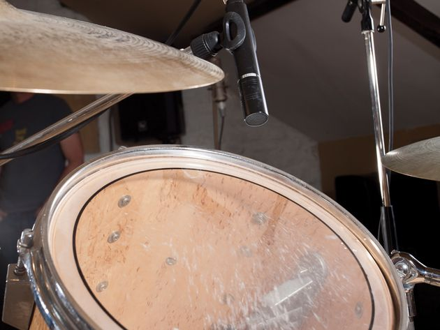 how to set up a drum kit for recording