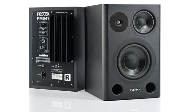 Fostex PM641 Monitors