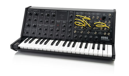 Korg MS-20 mini analogue synth review