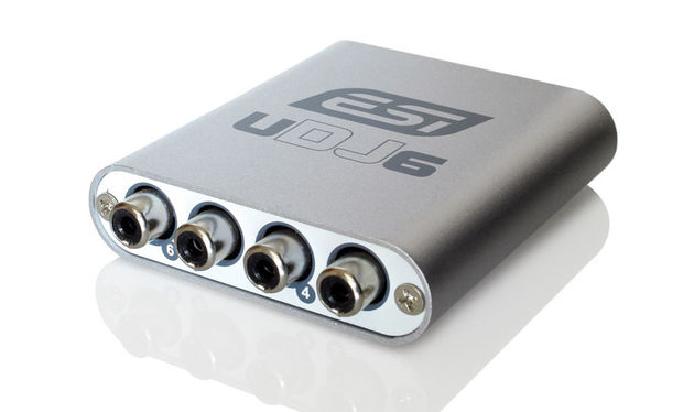 The UDJ6 is designed for use as a middleman between your DJ software and your mixer