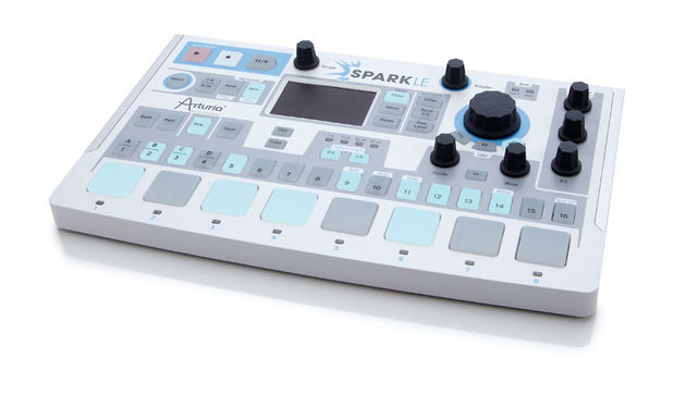 The neat looking USB powered sparkLE controller has been logically laid out and mirrored exactly by the SparkLE software
