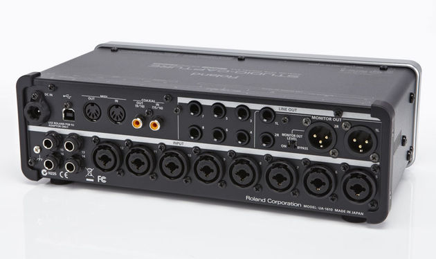 Studio Capture clearly has the I/O capabilities to handle a complete recording session without the need for re-patching