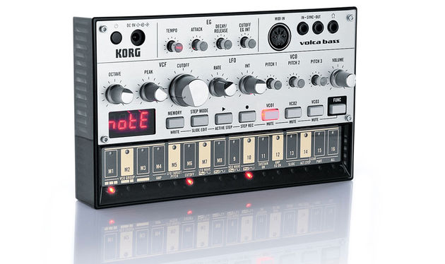 The Volca Bass is perfect for producers that are tight on space but want a quality synth without breaking the bank