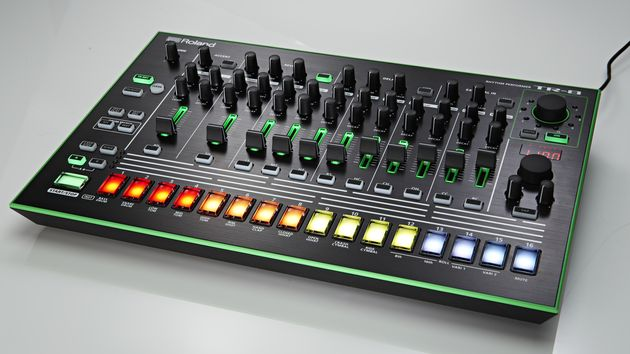 The TR-8 might not look vintage, but it does look good.