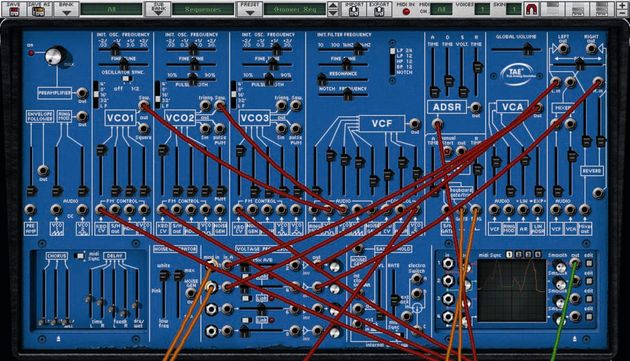 The ARP 2600V comes with three different colour schemes that closely mirror the original ARP designs.