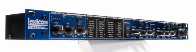 The Lexicon MX200 multi-effects unit