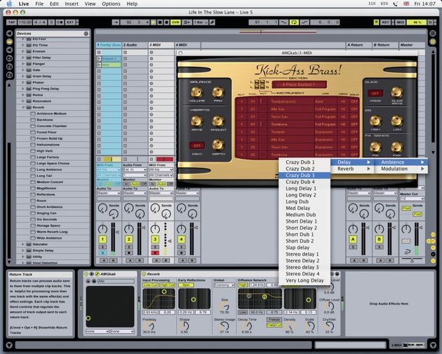 No longer a mere sample library, Kick-Ass Brass! is now a VST and AU plug-in