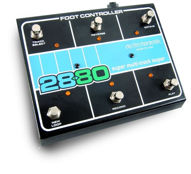 The 2880 serves up endless looping options for guitarists and even DJs.
