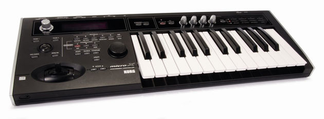 The MicroX is a controller and synthesizer in one.