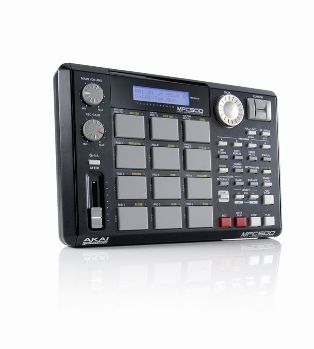 The 500 is a scaled-down version of the bigger MPC's with 12 pads instead of 16