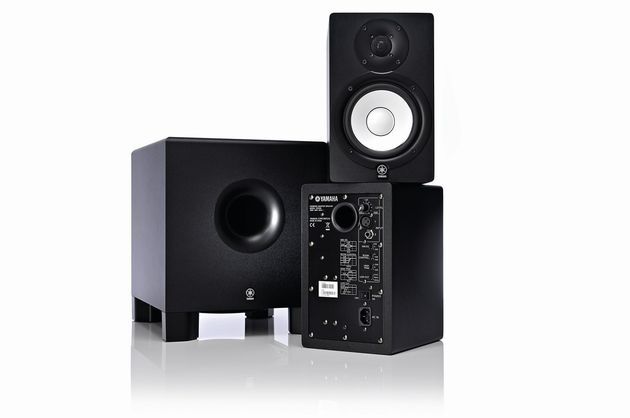 Yamaha's HS50M and HS10W: an up-front sound.
