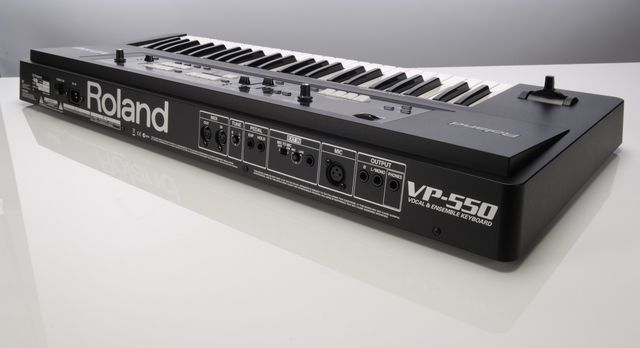 Sing, hum or speak into the VP-500 to create synthesised vocals.
