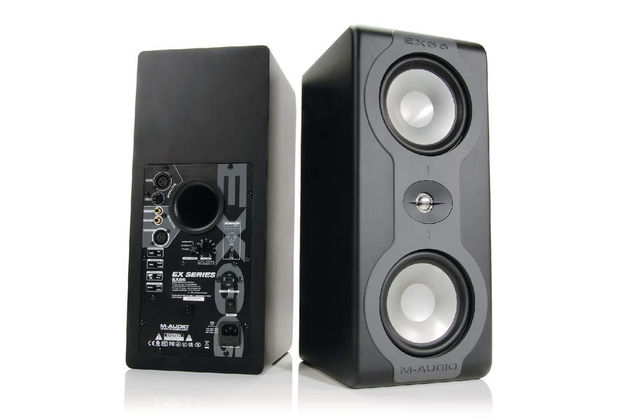 M-Audio's EX66 monitors: reassuringly weighty!