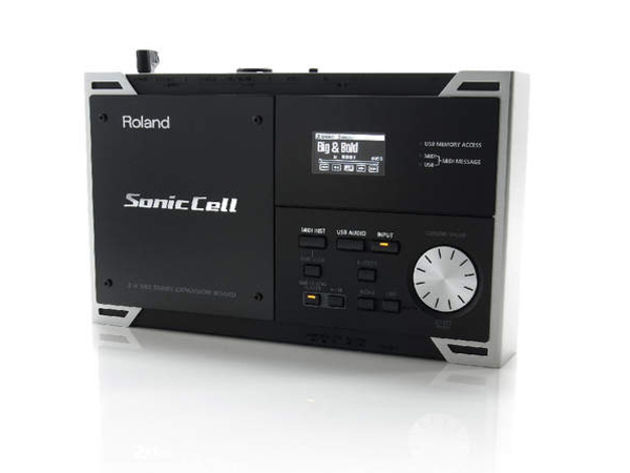 Sonic Cell is a sound module, audio interface and music file player.