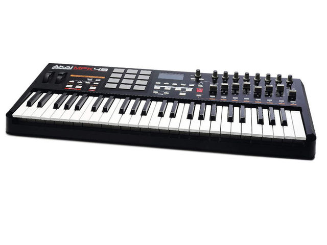 The MPK49 has that distinctive Akai 'look' about it.