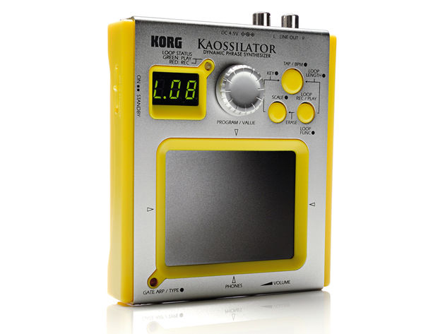 The Kaossilator is built on the same chassis as the Kaoss Pad Mini