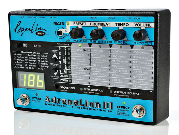 The AdrenaLinn 3 has more features than you can shake a very large stick at