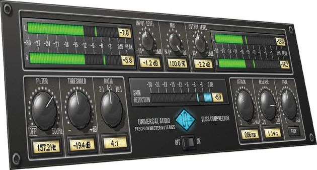 A great mastering compressor.
