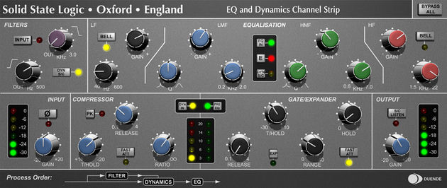 The EQ & Dynamics Channel is the only plug-in to come as standard.