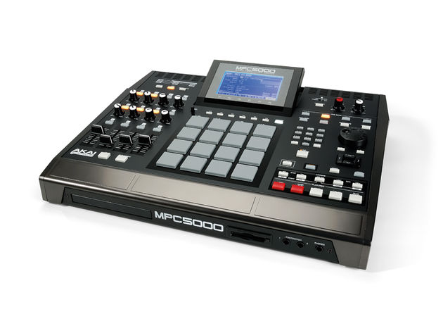 The 5000 looks like an MPC, and feels like one too.