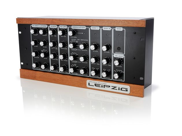 The Leipzig has a Moog-esque appearance.