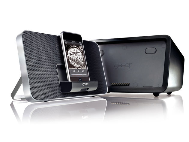 Gear4's Duo iPod/Phone docking system.