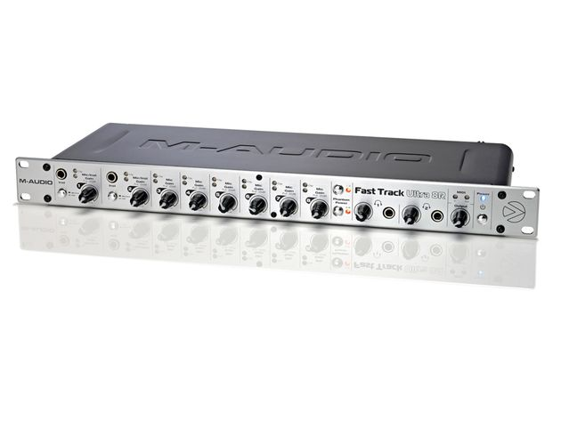 The Fast Track Ultra 8R looks every inch a pro interface.