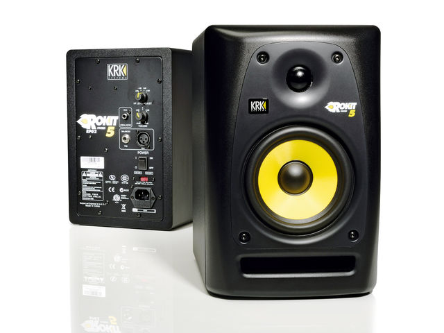 A set of proper studio monitors will enable you to hear what's really going on in your mixes, but beware of ear fatigue on long sessions.