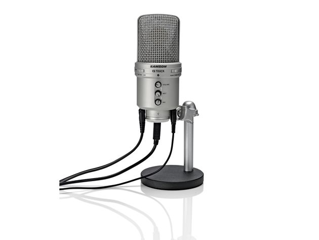 Don't let its appearance fool you into thinking that the G Track is a standard condenser mic.