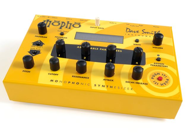 The Mopho's limited control options mean that serious programming has to be done in software.