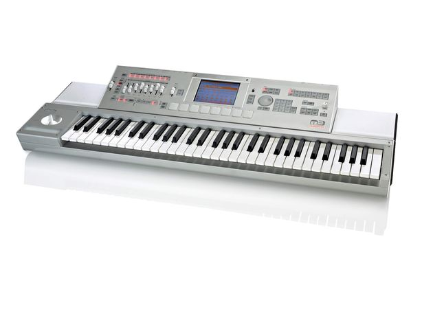 The M3 Xpanded has more sounds, a better sequencer and an improved touchscreen.