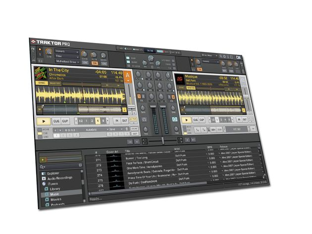 Traktor Pro feels much more intuitive than its predecessor.