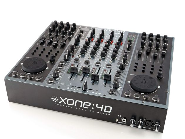 The Xone:4D enables DJing with any combination of decks and software