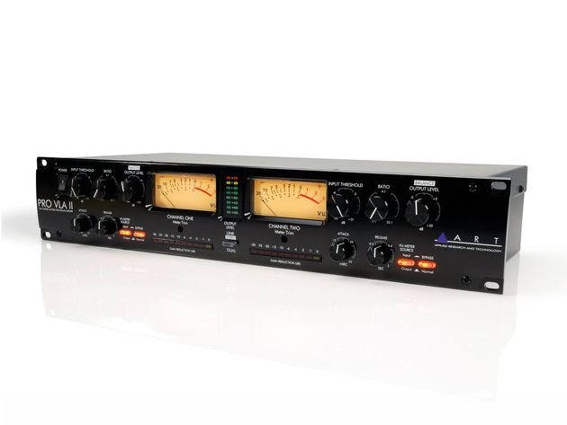 This mkII model offers expanded metering and controls.