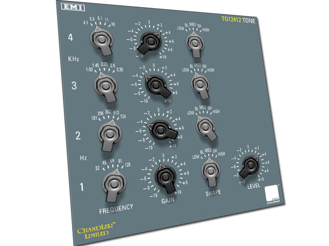 The TG12412 is a four-band parametric EQ.