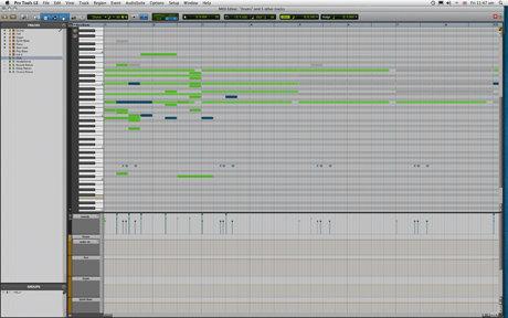 Pro tools 8 midi editor