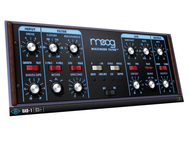 Those knobs and switches scream Moog before this plug-in even makes a sound.