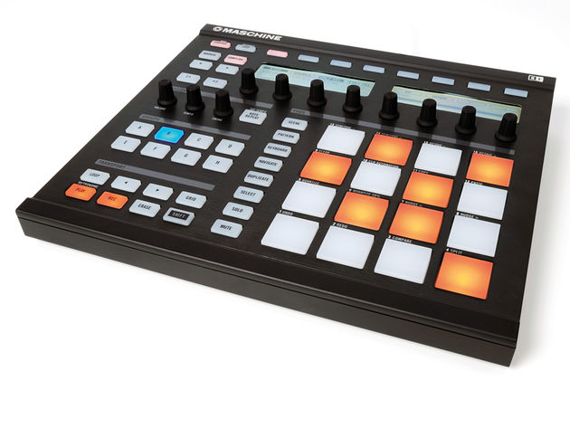 The Maschine hardware can pretty much replace your mouse.