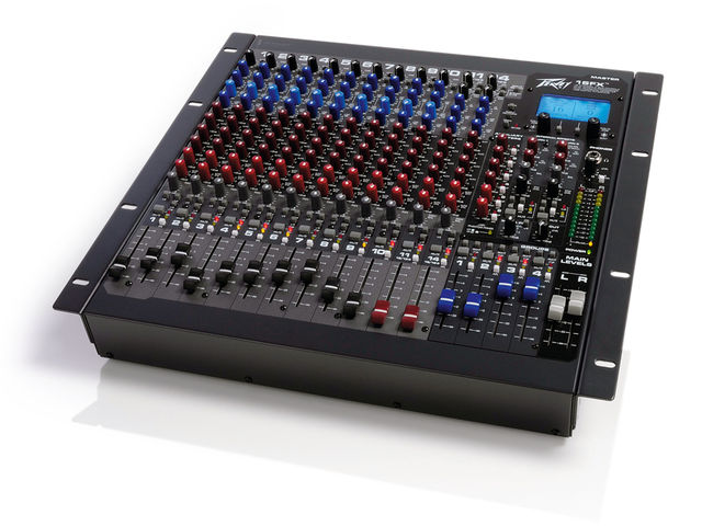 The 16FX can sit on or a desk or be rack-mounted.