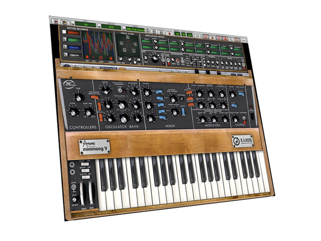 The Minimoog V now has a rack's worth of extra features.