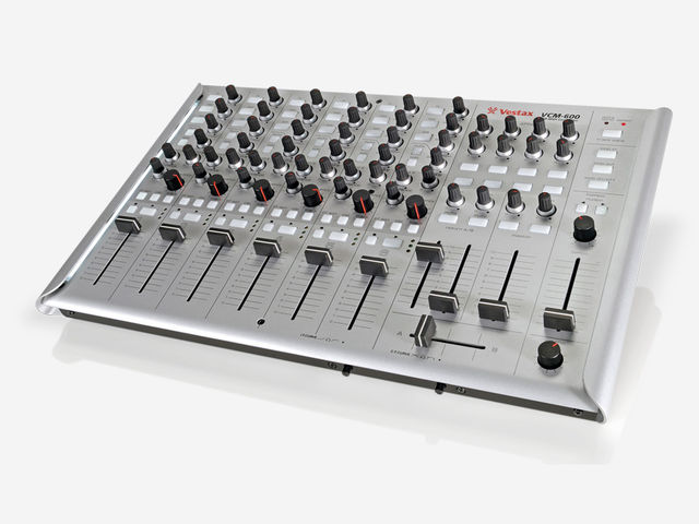 The VCM-600 may be big, but Vestax has packed a lot into it.