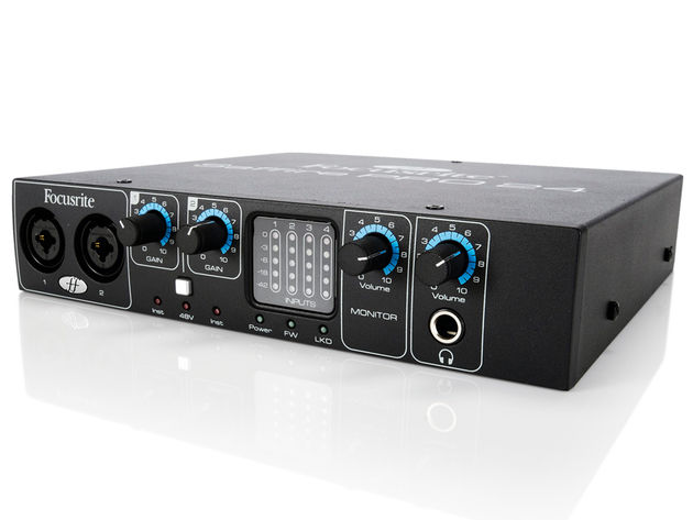 The preamps represent the Saffire PRO 24's standout feature.