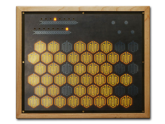The Manta has an array of 48 hexagonal sensors.