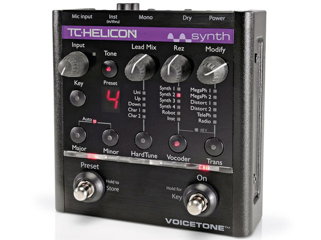 Pitch correction is just one of the tools in the VoiceTone Synth's arsenal.