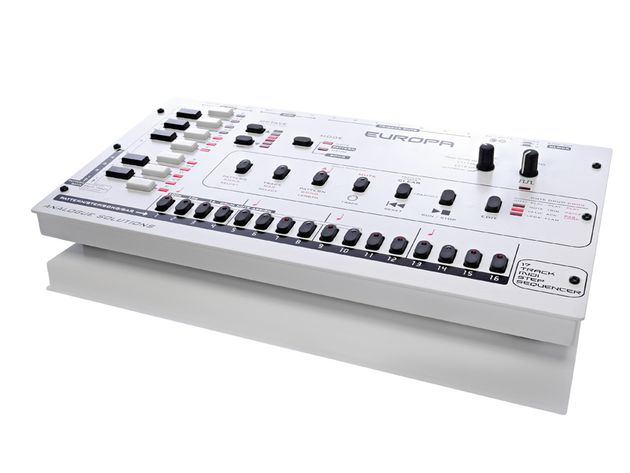 The Europa is great for sequencing synths and drum machines.