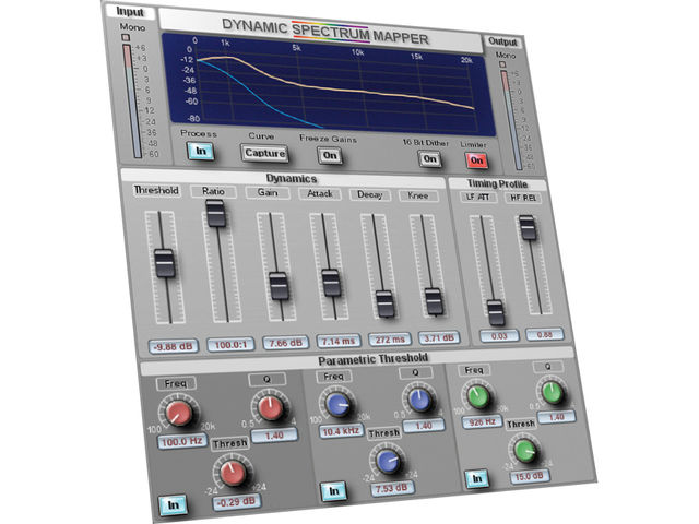 Pro Audio DSP Dynamic Spectrum Mapper (£200)