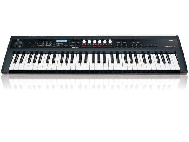The Korg PS60 has 61 keys and gives you quick access to sounds.