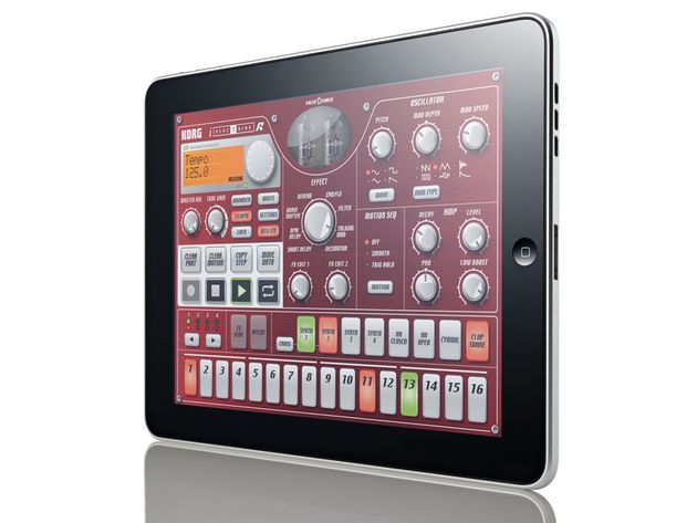 Korg's iElectribe is one of the iPad's first killer apps.